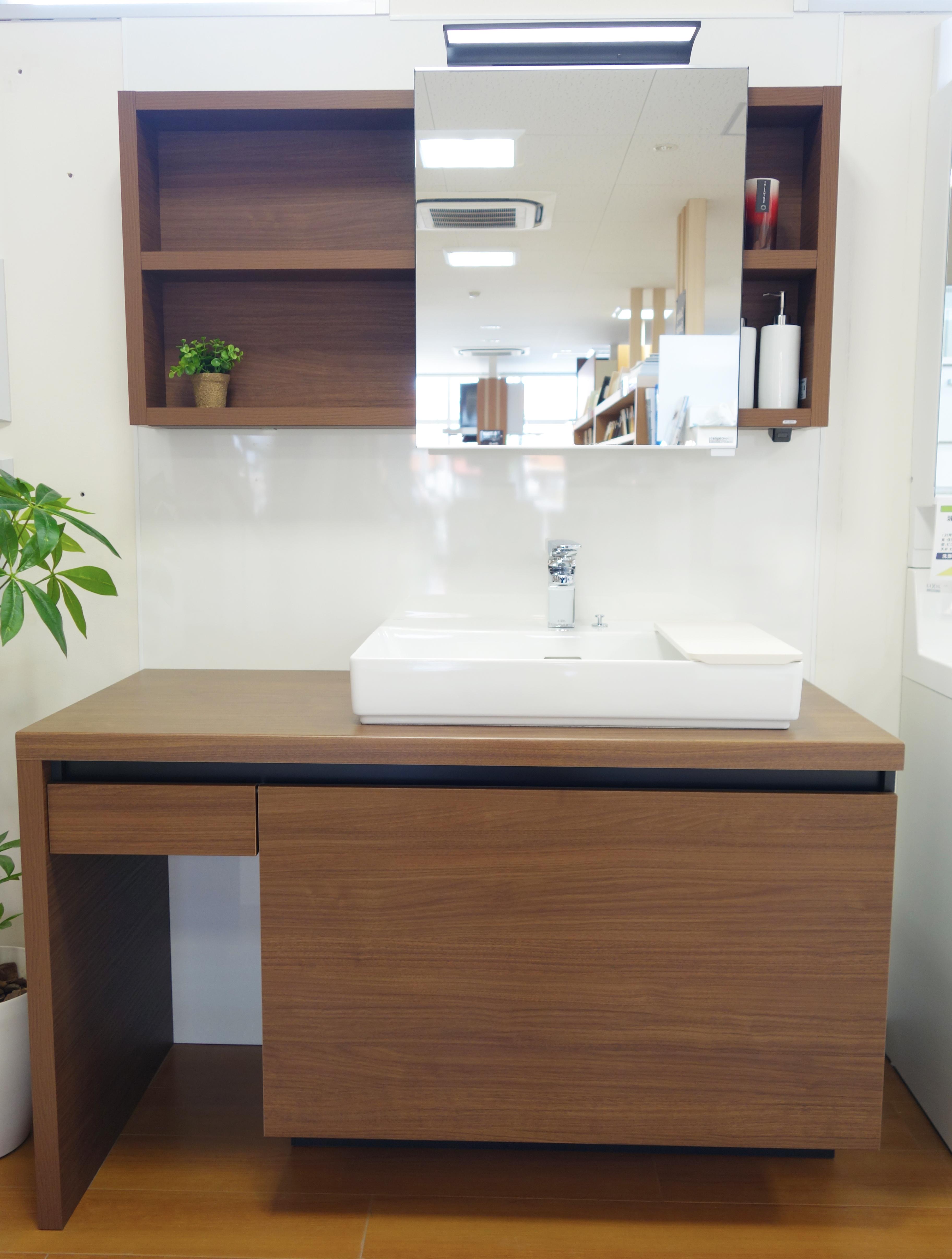 LIXIL】展示品新商品 ~洗面台~ | 岐阜でリフォームと言えば